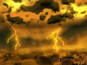 venus lightning