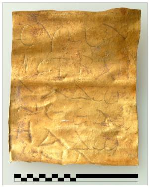 gold jew scroll