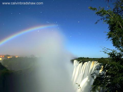 moon rainbow