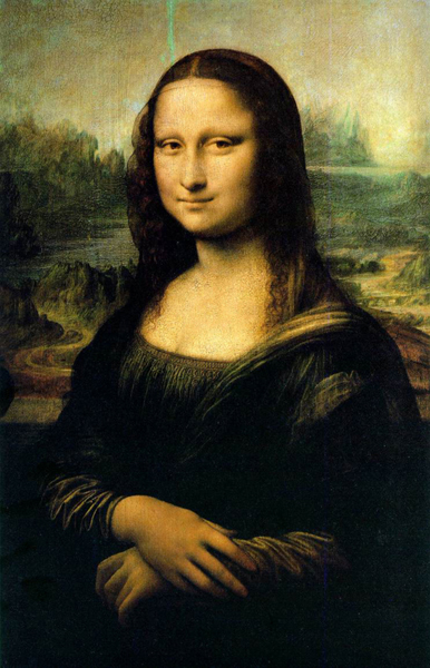 The Mona Lisa (Gioconda) - Da Vinci's most known painting
