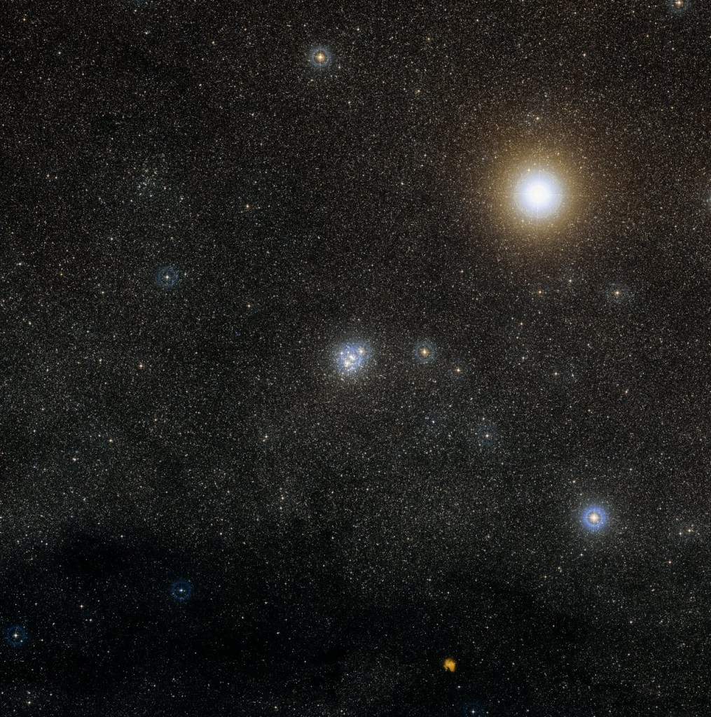 Digitized Sky Survey 2 Image of NGC 4755