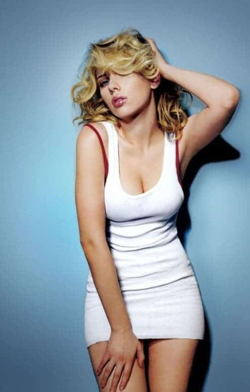 Scarlett Johansson. Not related in anyway to the study... but a fine example