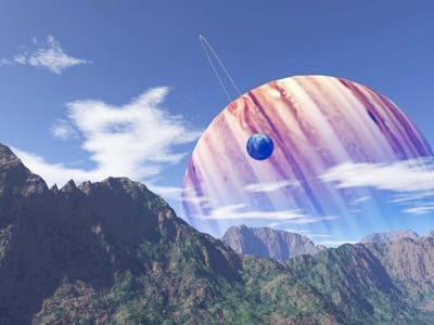 An artist's view of an exoplanet; not related in any way to the article