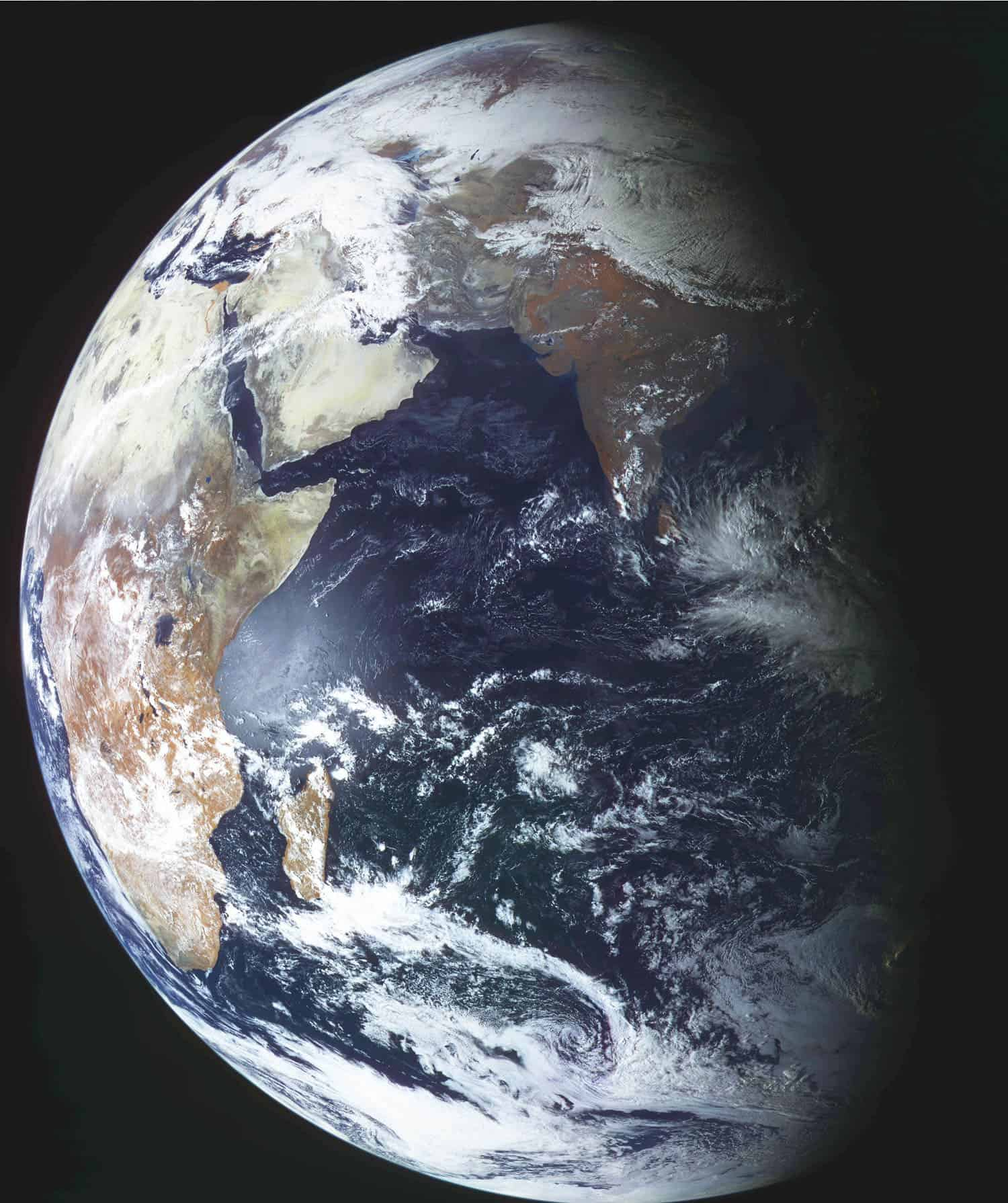 Stunning Photo Of The Earth Captured By New Russian Satellite - Photos from satellite