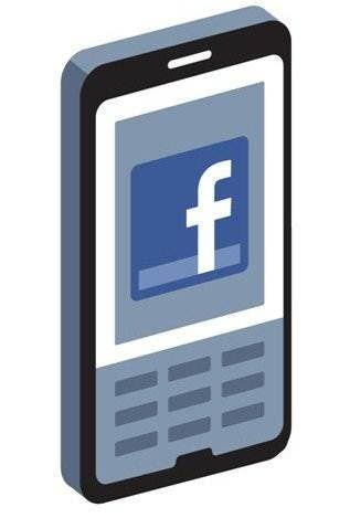 facebook mobile on the phone