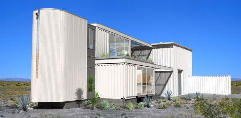 Mojave Desert container home