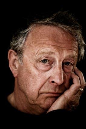 Portrait of a depressed senior man