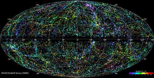 Click for HIGH RES imaging of the most complete, in-detail 3D map of the Universe