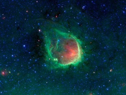 RCW 120 is just one of many such ringed nebulas found in the Milky Way. (c) NASA