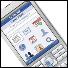 Facebook feature phone
