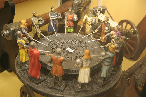 King arthur 39 s legendary round table may have been found in - King arthur s round table found ...