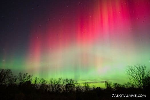 Cross Plains, Wisconsin Northern Lights. (c) Randy Halverson