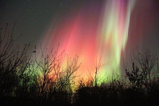 Saskatoon, Saskatchewan Northern Lights. (c) Ray Mckenzie