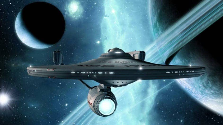 Some day, in the next 100 years, Star Trek's Enterprise might pass to the realm of reality.