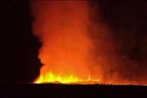 Nyamuragira eruption Congo
