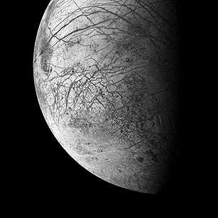 Jupiter's moon Europa. (c) Michael Benson / Kinetikon Pictures / Corbis