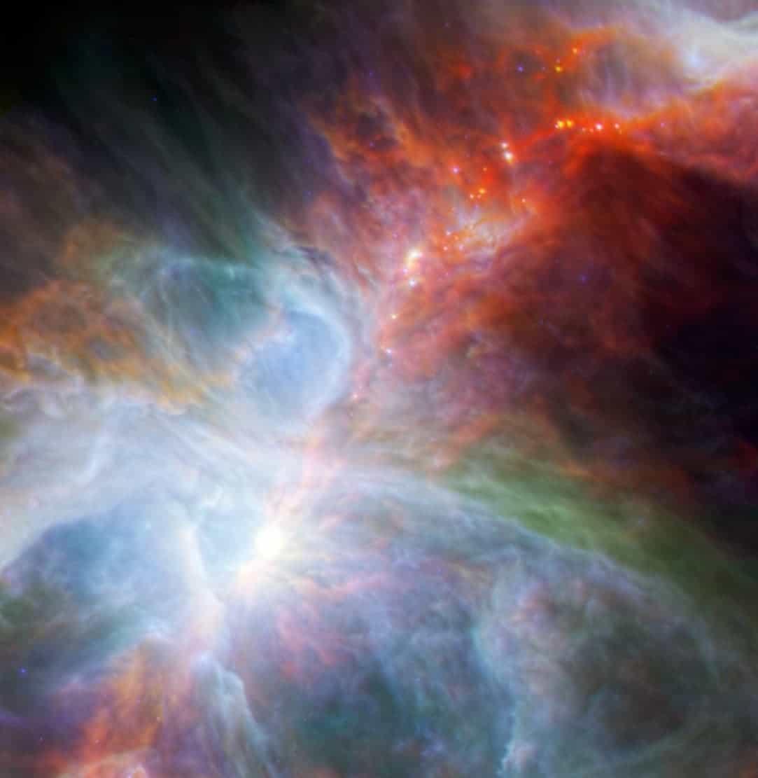 Orion Nebula Baby stars