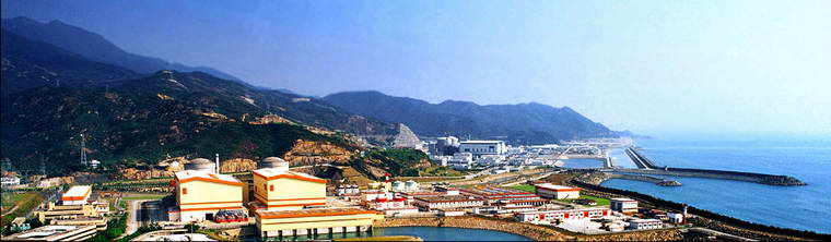 Panorama of the Daya Bay Nuclear Power Plant Complex