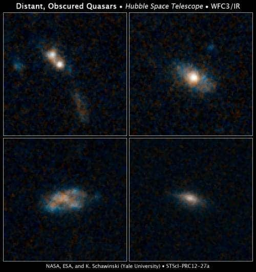 Quasar Faint Light