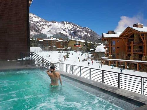 Jackson Hole - Sass Fee - Stunning Eco Hotel