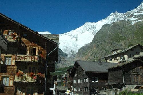 Saas Fee - Great Environmentally Friendly Attitude