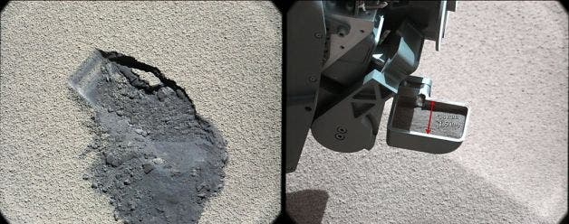 mars rover lights volcano - photo #33