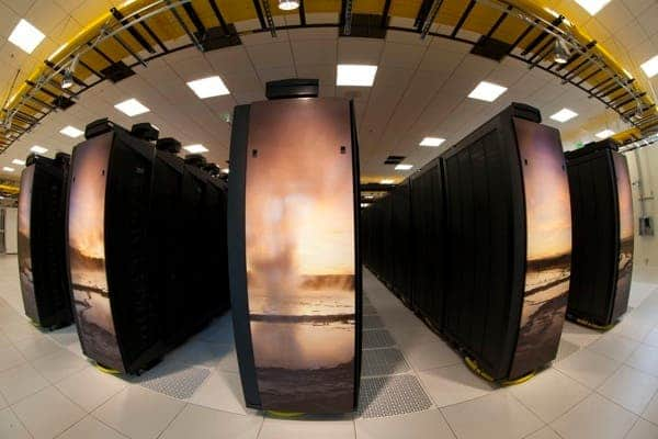 Yellowstone ncar supercomputer