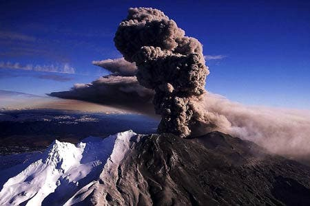Mount Ruapehu is the highest mountain on the North Island.