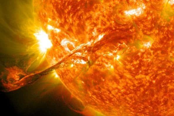 4 solar flare
