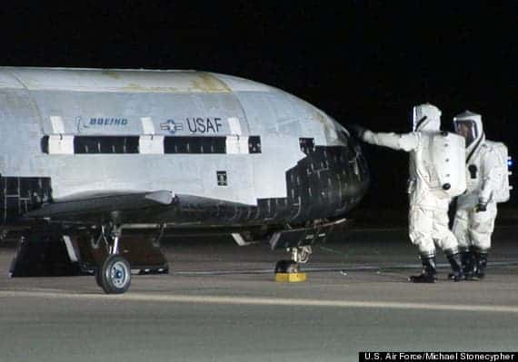 X-37 B secret US Air Force space plane