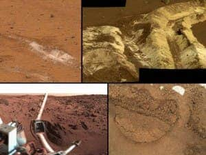 An assortment of various Martian soils. (c) NASA
