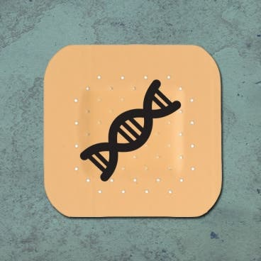 DNA-based vaccine-delivery patch (Credit: Christine Daniloff/MIT)