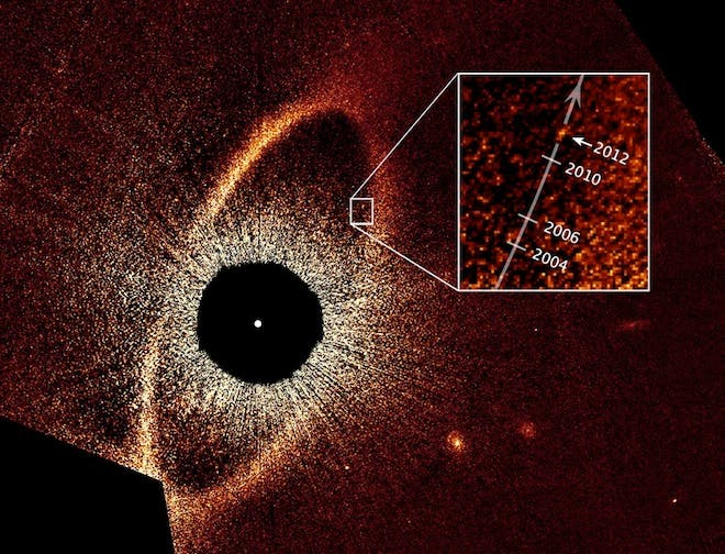 Eye of Sauron exoplanet