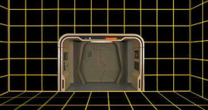 Holodeck caption from the USS enterprise