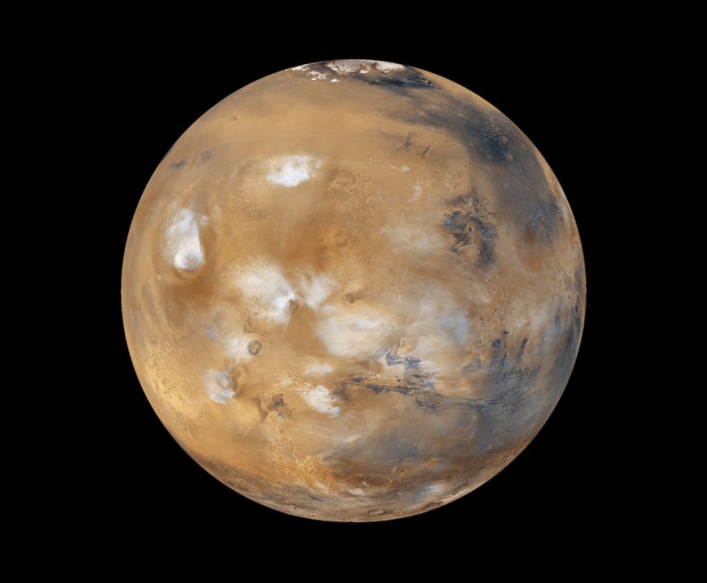 Mars Global Surveyor photo of mars 1999