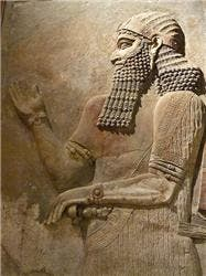 In 2300s BC Sargon conquered Sumer as well as all of Mesopotamia establishing the world's first empire, the Akkadian Empire. An empire is a land with different territories and peoples under a single rule. The Akkadian Empire stretched from the Persian Gulf to the Mediterranean Sea. Sargon was emperor for 50 years, but after his death the empire only lasted a century before it fell. (c) Mary Harrsch