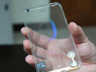 transparent telephone