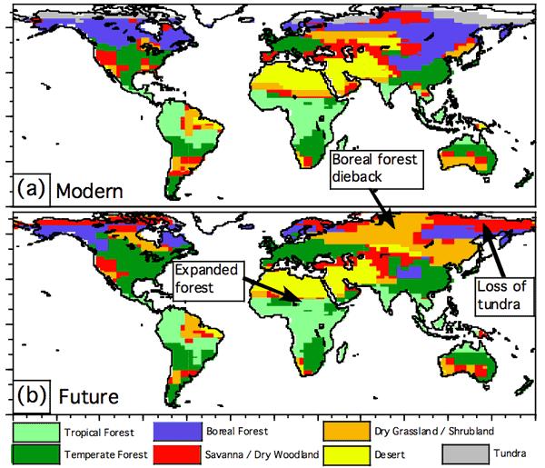 Greenhouse gases impact