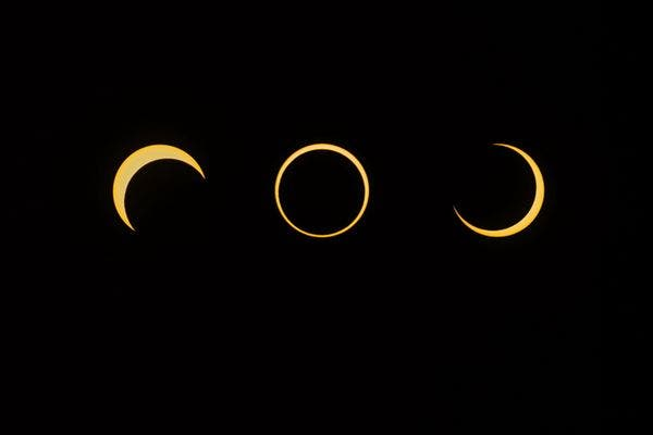 Annular eclipse over Utah last year in May. (c) Wally Pacholka