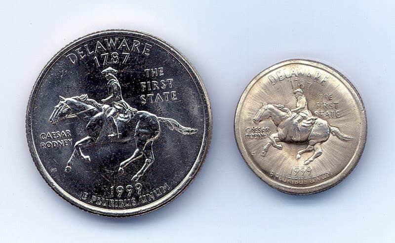 shrunken coins electromagnetic