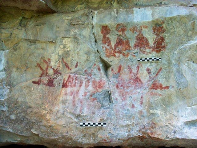 mexico cave painting