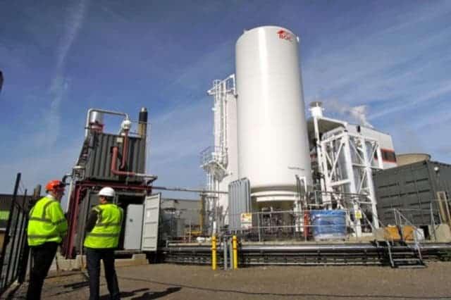liquefied air plant