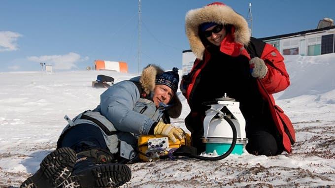 canadiam permafrost extremophiles