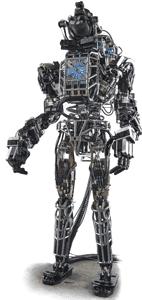 DARPA's Atlas robot.. (Credit: DARPA)