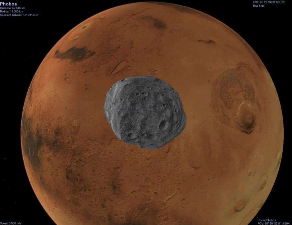 Curiosity rover snaps a video of Martian moonrise