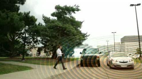 honda vehicle to pedestrian safety