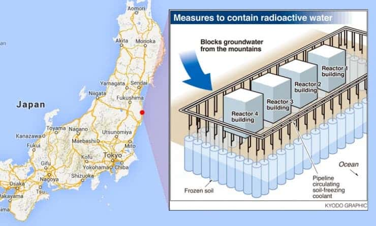 fukushima oil