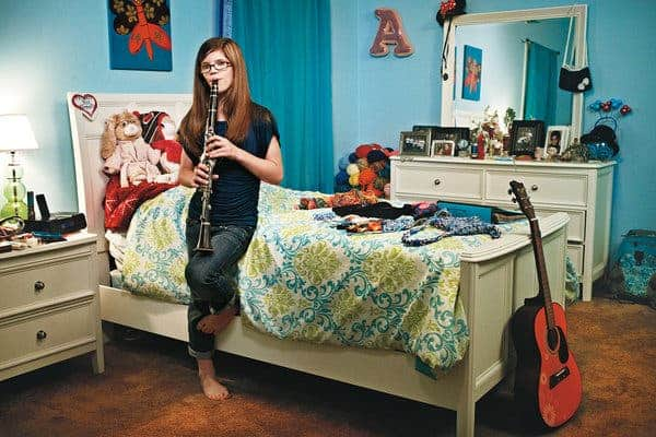 Ashlyn Blocker, the teenager that can't feel pain. (c) Justin Heckert