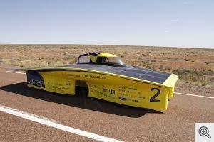 Michigan 'Generation' solar race car. (c) Pavan Naik