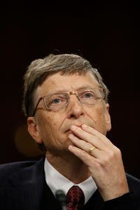 Bill Clinton And Bill Gates Testify At Senate Hearing On Global Health